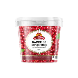 Jam Empire LINGONBERRY 1kg bucket