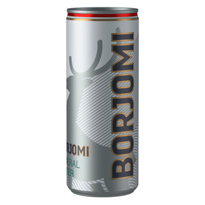 Natural Mineral Water Sparkling Borjomi 330 ml can (Georgia)