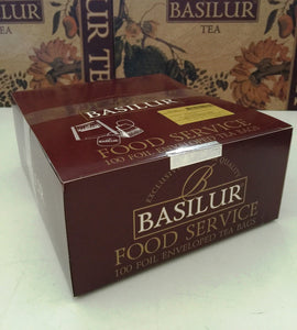"Basilur ""Bouquet"" Green Jasmine Tea 100 Tea Bags Food Service Packs"