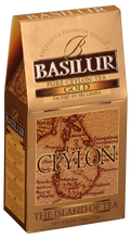 Load image into Gallery viewer, Basilur Island of Tea GOLD - Pure Ceylon Black Tea (OP1) 100g