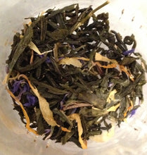 Load image into Gallery viewer, Basilur Four Seasons - Summer Tea - Sencha green tea with wild strawberries, papaya & cornflower 100g packet