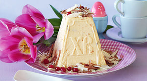 "Plastic Form for Easter Cheese ""Paskha"", Large"