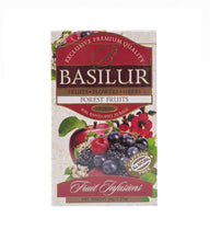 Load image into Gallery viewer, Basilur FRUIT INFUSION - FOREST FRUITS tea bags (1.8GX20ES) caffeine free