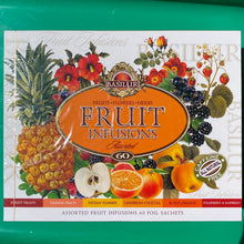 Load image into Gallery viewer, Basilur ASSORTED FRUIT INFUSIONS Caffeine Free 60 Tea Bags