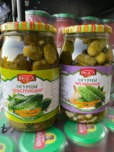 Pickled crunchy cucumbers 900g