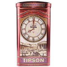 Load image into Gallery viewer, Tipson English Breakfast Loose Leaf Black Tea Metal Caddy 150g