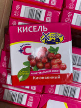 Load image into Gallery viewer, Khutorok KISSEL assorted with natural juice and vitamin C 180g - Кисель Бабушкин Хуторок на натуральном соке