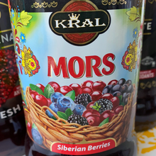 Load image into Gallery viewer, KRAL Mors natural juice Siberian berries 1L Russia
