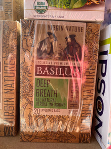 Basilur Tea Virgin Nature Tea Collection Herbal Tea 20 tea bags