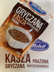 Melvit Roasted buckwheat 400g Poland
