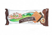 Load image into Gallery viewer, Korovka Biscuit Baked Milk with chocolate 115g
