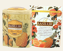 Load image into Gallery viewer, Basilur Magic Fruits Mango and Pineapple 100g