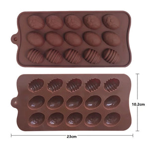 Easter Chocolate Jelly Cake Soap Mould Silicone