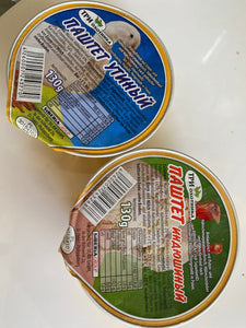 Poultry pate 135g SiberiaGroup
