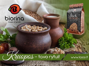 Biorina Roasted Buckwheat Гречка 800г