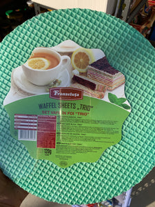Waffle sheets TRIO 120g