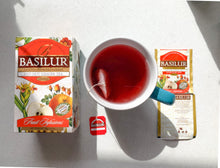 Load image into Gallery viewer, Basilur Caffeine Free Red Hot Ginger 100g, 20 tea bags