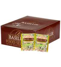 "Load image into Gallery viewer, Basilur ""Bouquet"" Green Jasmine Tea 100 Tea Bags Food Service Packs"