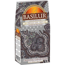 Load image into Gallery viewer, Basilur Oriental Collection PERSIAN EARL GREY - black tea with earl grey & mandarin 100g carton packet