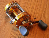 3BB Baitcast Reel CL60 Fishing Trolling Great for Catfish Muskie GOLD