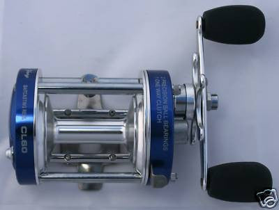 NEW 3BB Baitcast Reel CL60 Fishing Casting Trolling