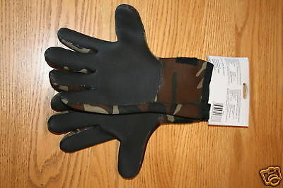 Big Ice South Bend Fleece Lined Deluxe Neoprene Gloves