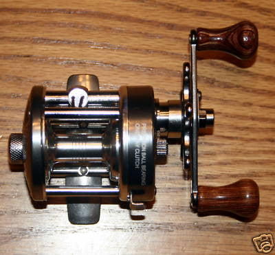 NEW CL25 Crappie Sunfish Baitcast Fishing Reel