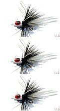 K&E Stopper Legged Popper Size 10 White/Black/White Tri-Pack SL103PK-A