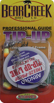 Bear Creek Professional Tip Up Rigging Kit Enough To Rig Two Tip Ups QS TURK