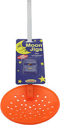 Moon Orange Ice Skimmers With Assorted Moon Jigs Plastic Cup 80SPJ