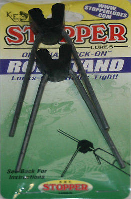 K&E Stopper Lock-On Rod Stand for Ice Rods (Includes Two Stands) LO-81
