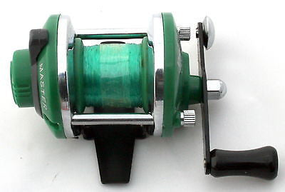 NEW EV-105 Deluxe Crappie Sunfish Panfish Ice Fishing Reel 3.6:1 Gear GREEN Mini