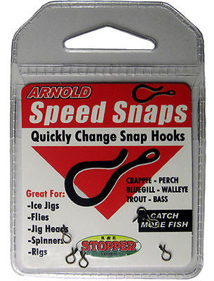 Arnold Fishing Speed Snaps For Lures (Includes 6 Medium Speed Snaps) SH6PK-M