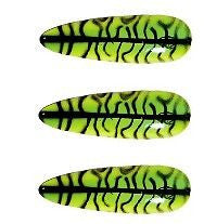 "Three Eppinger Dardevlet Mackerel Finish Fishing Spoon Lures 3/4 oz 2 7/8"" 1-40"