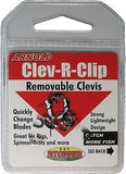 Arnold Fishing Small Lightweight Clev-R-Clip Clevis (Includes 12 Clips) WRCC