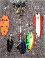 Five Eppinger Lure Fishing Steelhead Stream Kit 1-4365 1-5250 1-915 1-1362 1-858