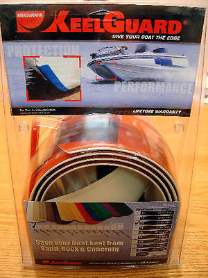 Keelguard 10 ft Keel Guard Hull Protector Boat WHITE