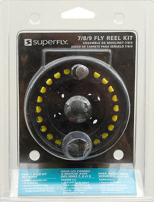 SuperFly Fly Fishing Reel Kit 789 With Line Right/Left-Handed Anglers FRLL-789P