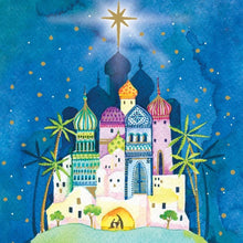 Load image into Gallery viewer, Bethlehem Christmas cards, Pack of 10
