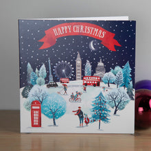 Load image into Gallery viewer, London Scene Christmas cards, Pack of 10