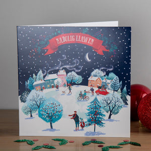A Christmas Village Christmas cards, Pack of 10
