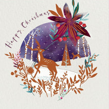 Load image into Gallery viewer, Woodland Scene Christmas cards, Pack of 10