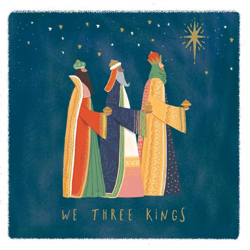 Three Kings Christmas cards, Pack of 10