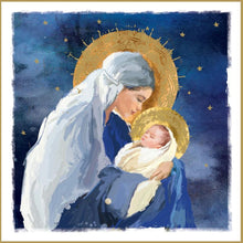 Load image into Gallery viewer, Madonna and Child Christmas cards, Pack of 10
