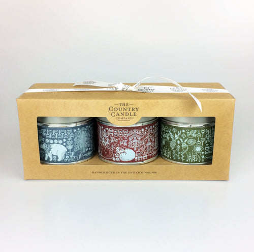 Nordic Candle trio Gift Set