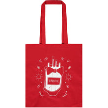 Load image into Gallery viewer, B Positive Tote bag