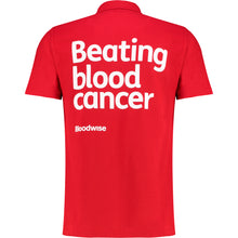 Load image into Gallery viewer, Polo tshirt Bloodwise red reverse