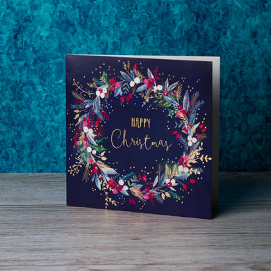 A Christmas Wreath Christmas cards, Pack of 10