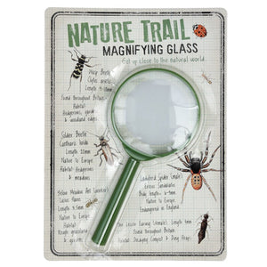 Nature trail magnifying glass children