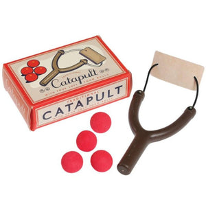 Traditional Catapult Toy with 4 foam balls